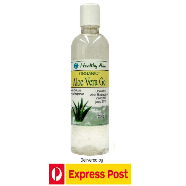 Australian ALOE VERA GEL 250g Certified Organic Skin Hand Ingredient Premium
