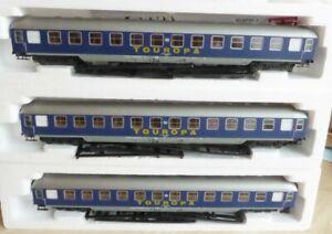 Lima-309683-K-Konvolut-3-x-Reisebuero-TOUROPA-Schnellzugwagen-Bcuem-DB-Epoche-4