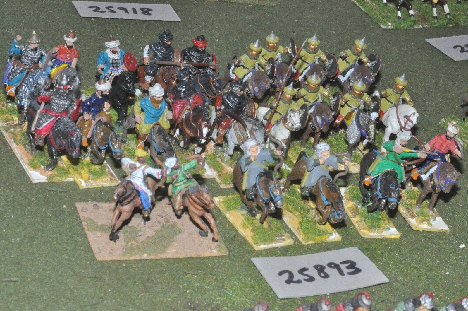 25mm medieval   arab - battle group 24 figures - cav (25893)