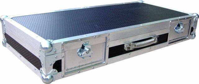 ProX XS-CDM2000WLT Flight Case w//Laptop Shelf+Wheels 4 Pioneer DJM 900//CDJ 2000