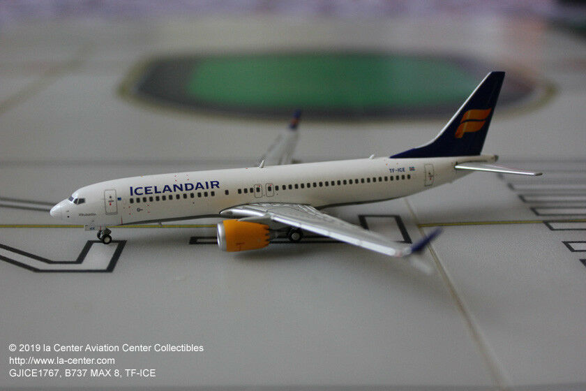 Gemini Jets Icelandair Boeing 737 737 737 Max 8 in Current color Diecast Model 1 400 73a51a
