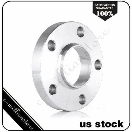 4Pcs 20mm thick 5x112 66.6mm 12x1.5 studs Wheel Spacers Adapters Fits Mercedes