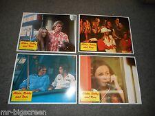 """ALOHA, BOBBY AND ROSE - ORIGINAL SET OF 8 LOBBY CARDS - 11"""" X 14"""" - 1975"""