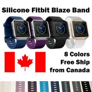 For-Fitbit-Blaze-Band-Replacement-Wrist-Strap-Silicone-Smart-Watch-Band-Large
