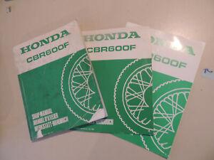 HONDA CBR 600 F pc19//23 dal 1987 manuale di riparazione SHOP MANUAL MANUEL D/'Atelier