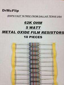 6.04K Ohm 1//4 Watt 1/% Metal Film Resistor 5 Pieces Prime Parts US Seller