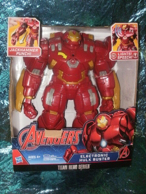 Marvel Avengers Titan Hero TRU Toys R US Exclusive Electronic Hulk Buster NEW