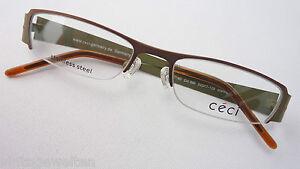 Damen-accessoires Augenoptik RüCksichtsvoll Ceci Stahlbrille Brille Damen Ohne Unterrand Naturfarben Breiter Bügel Grösse M