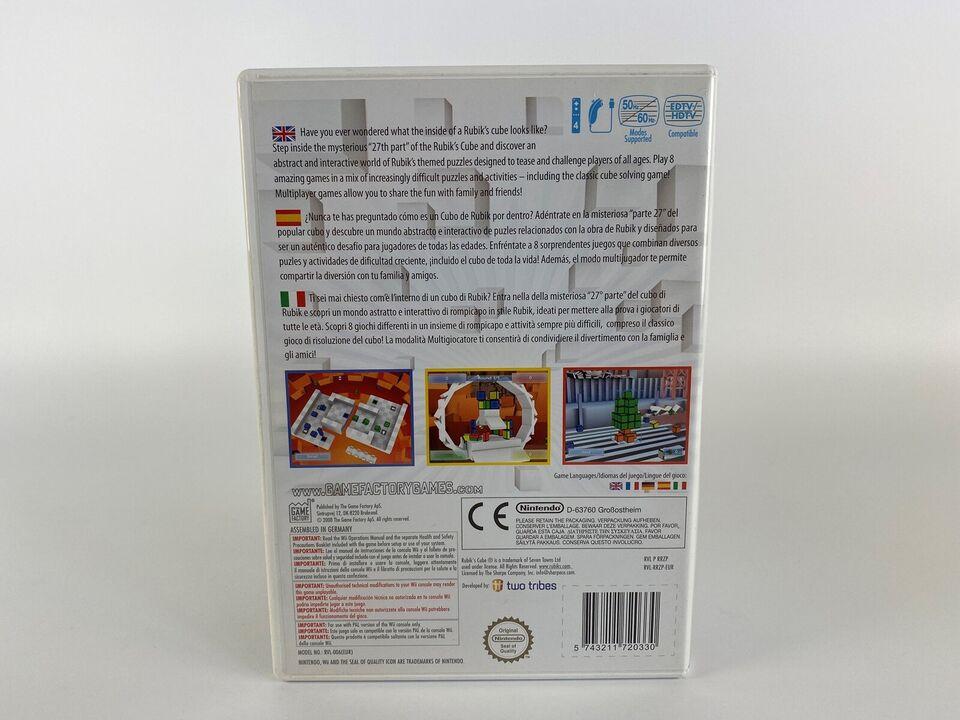 Rubik's Puzzle World, Nintendo Wii