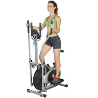 Elliptical Bike 2 In 1 Cross Trainer Exercise Fitness Machine Upgraded Model on sale