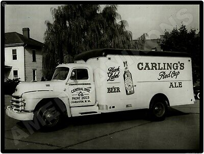 1950 Diamond T Trucks New Metal Sign Model 420 Carling S Red Cap