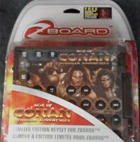 Steelseries / Ideazon Zboard Age Of Conan Limited Ed Gaming Keyset -brand