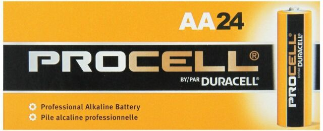Duracell Procell AA Batteries 24 Count