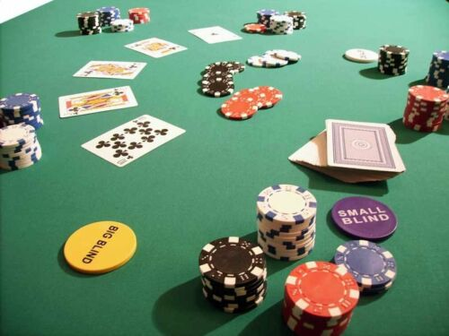 Pokertuch+Spieltuchspanner Pokerauflage Poker Spiel Tisch Tuch Stoff 130-300x160