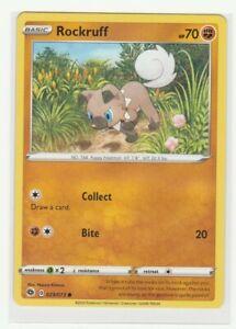 029/073 TRAINER ROCKRUFF Uncommon Card Pokemon Champion's Path