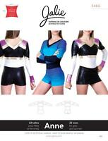 Jalie Anne One Piece Cheerleading Uniform Bodysuit Sewing Pattern 3466