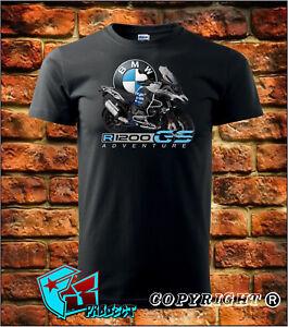 New Official BMW Motorrad R1200GS Adventure T-shirt Size S-3XL
