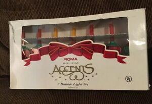 Vintage-Noma-Holiday-Accents-7-Bubble-Light-Set-Cat-82807