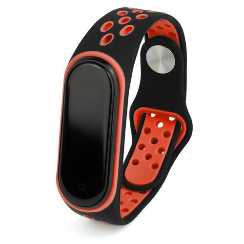 Ersatz Armband für Xiaomi Mi Band 3 und Mi Band 4 Fitness Tracker Mehrfarbig