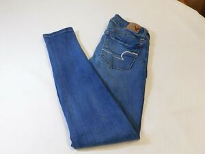 American Eagle Outfitters Jeggings 0 Reg Womens Juniors Jeans Super Stretch Ebay