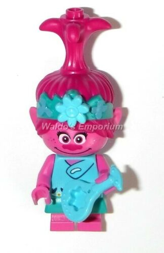 Lego Trolls World Tour MiniFigure POPPY w//Blue Ukulele 41251 New 41252 41256