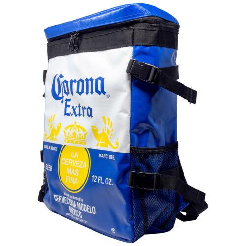 Corona Extra Label Backpack Cooler Blue