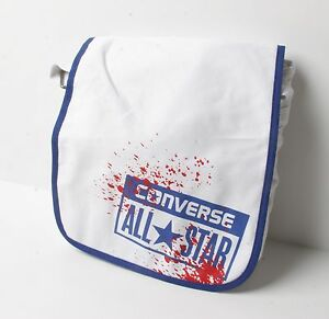 7f215e9323ee Image is loading Converse-Flap-Bag-Canvas-White