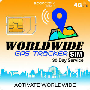 Gps Tracker Worldwide Sim Card Compatible With 4g Tracking Devices Locators 793052173968 Ebay