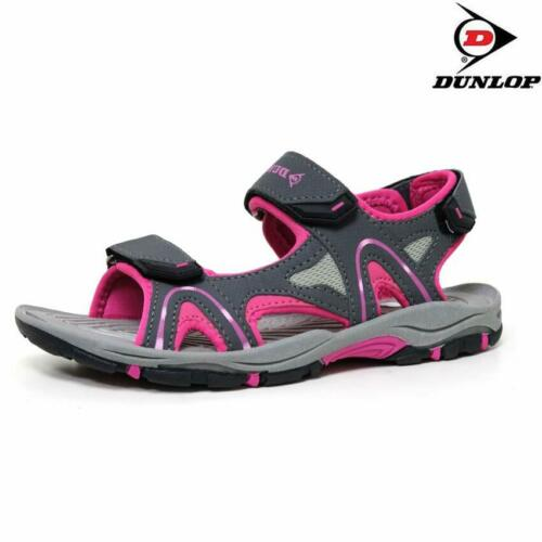 Ladies Womens Summer Sandals Dunlop Sports Hiking Walking Trekking Beach Shoes
