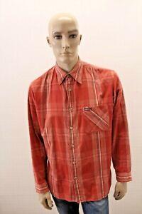 Camicia-MARLBORO-CLASSICS-Uomo-Shirt-Chemise-Man-Taglia-Size-XL