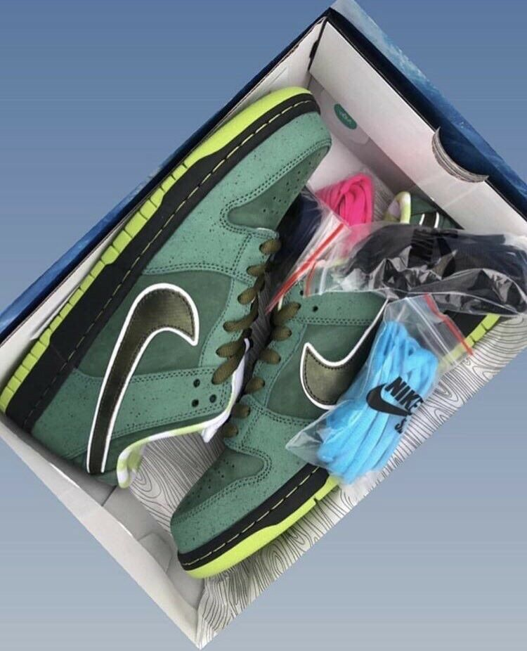 "Nike Sb X Concepts Exclusive Ice Box Packing ""Green ""Green ""Green Lobsters"" 2018 QS Rare 7c78f0"