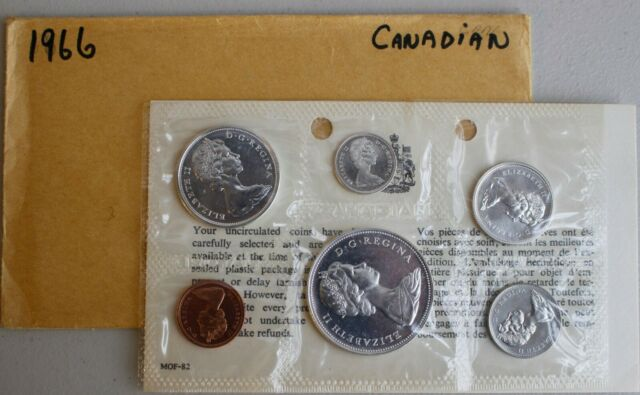 World 1983 Canada Uncirculated Coin Collection 6 Coin Set 1 Cent To One Dollar Royal Available In Various Designs And Specifications For Your Selection