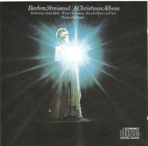 Barbra-Streisand-A-Christmas-Album-CD-album