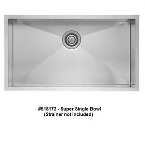 Image Is Loading BLANCO 518172 QUATRUS Super Single Bowl Undermount Stainless