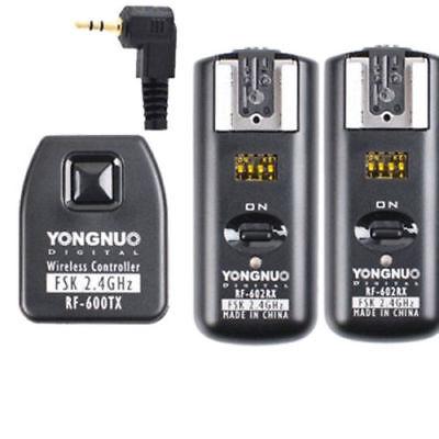 RF-602 YN-126 Cable remoto para Canon 550D 500D 450D T2i