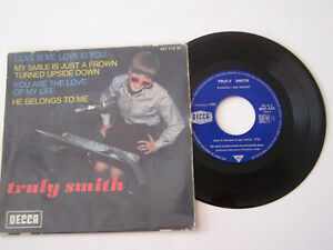 EP-4-TITRES-VINYLE-45-T-TRULY-SMITH-LOVE-IS-ME-LOVE-IS-YOU-VG-VG