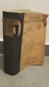 Anales-De-Oculistique-Agosto-1930-Broche-Dibujado-Paris-E-C
