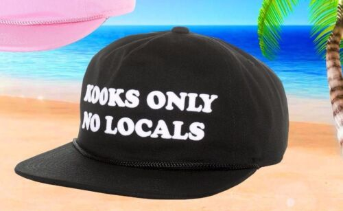 New Coal The Kooks Black Pink Mens Snapback Cap Hat