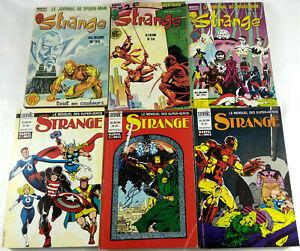 BD-Comic-Strange-Lot-de-6-Albums-Relies-1978-a-1992-Lug-Semic-Envoi-suivi