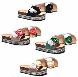 Sandali-estivi-donna-ciabatte-mare-scarpe-camoscio-e-fiori-con-zeppa-in-sughero