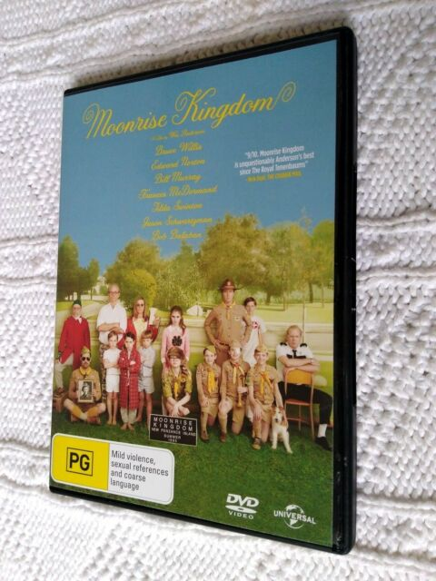 Moonrise Kingdom (DVD, 2012) R-2+4, LIKE NEW, FREE POST WITHIN AUSTRALIA