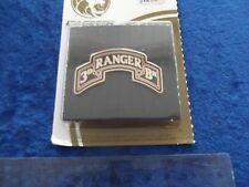 (A32-Unt) Airborn CSIB, 3nd Ranger Patch Bund Dress ID Badges