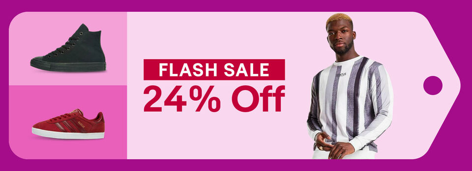 Shop Flash Sale - Hurry! At Least 24% off JD Outlet
