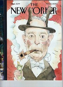 """THE NEW YORKER MAGAZINE  MARCH 2 2020- """"ALL THAT MONEY CAN BUY"""" NEW/SHIPS FREE"""