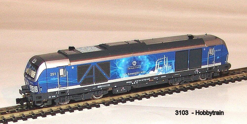 3103 - Hobbytrain - Diesel Diesel Diesel Locomotive Br 247 907 Vectron de Infraleuna Ep.vi New a279e8