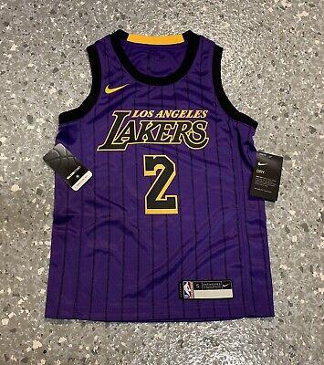 Lonzo Ball Los Angeles Lakers City Edition Nike Swingman Jersey ...