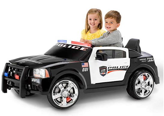 Police Car For Kids Electric Ride On Cars 12v With Working Siren
