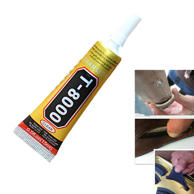 Glue T-8000 Clear Epoxy Resin Sealant Craft Industrial Glass Jewelry 1 Pack  3c