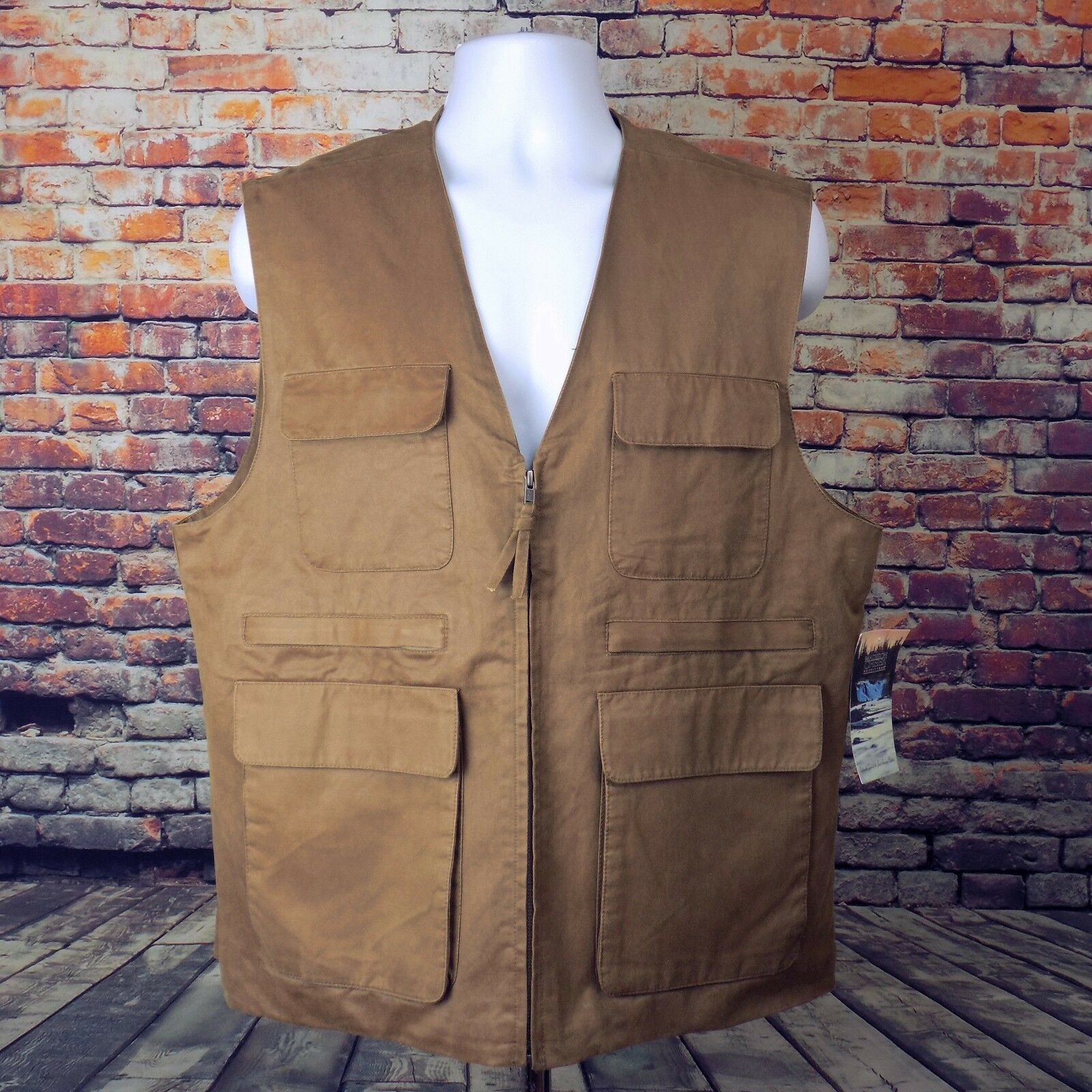Madison Creek Outfitters Outdoor Vest Men's Size L Large NWT