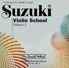Suzuki Violin School Volume 1 Audio by David Cerone